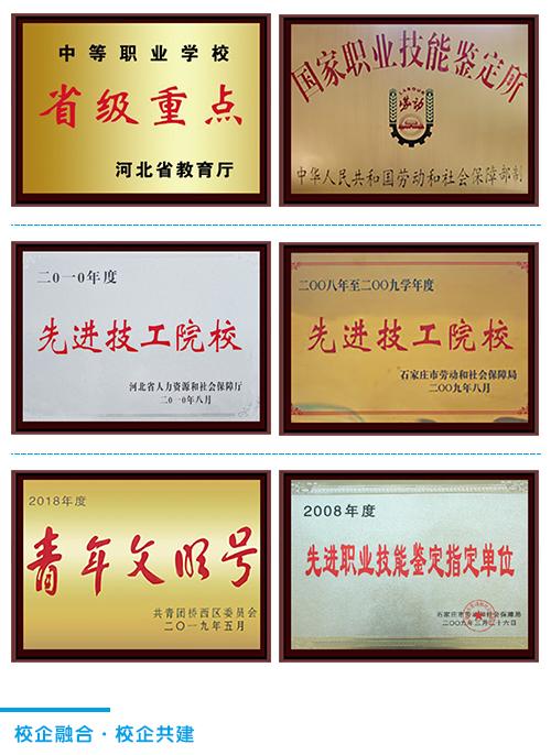 石家庄铁路学校荣誉